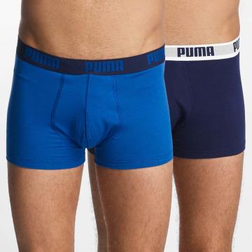 Puma Boxer Short 2-Pack Basic Trunk blue