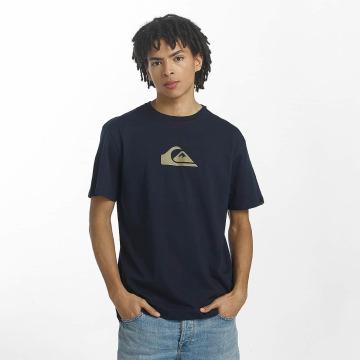 Quiksilver T-Shirt Classic Comp Logo blue