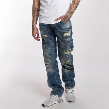 Red Bridge Straight Fit Jeans Look Out blue