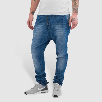 Red Bridge Straight Fit Jeans Dots blue
