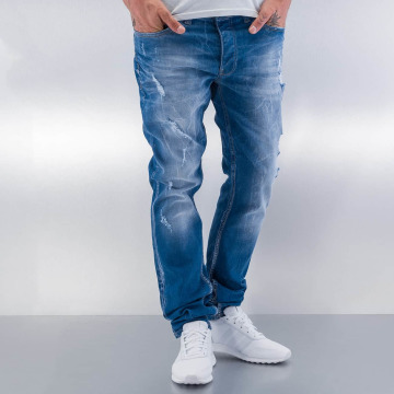 Red Bridge Straight Fit Jeans Destroyed blue