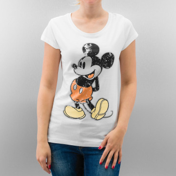 Rock Angel T-Shirt Mickey white