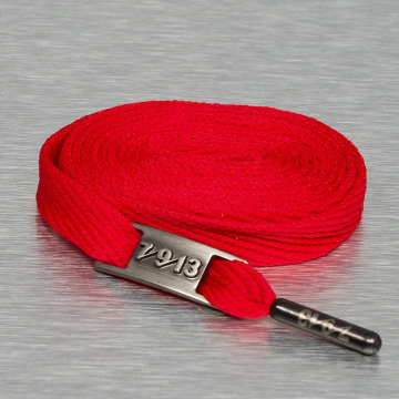 Seven Nine 13 Shoelace Full Metal red