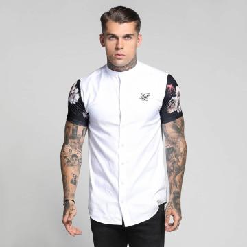 Sik Silk Shirt Contrast Oxford white