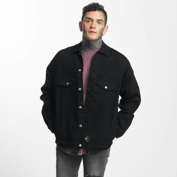 Sixth June Lightweight Jacket Classic Oversize Denim black