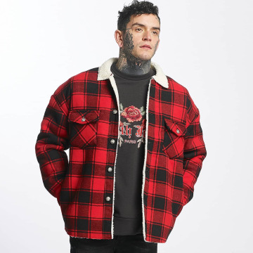 Sixth June Lightweight Jacket Lumberjack red