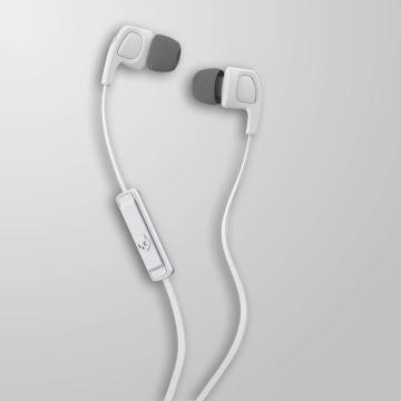 Skullcandy Headphone Smokin Bud 2 Mic 1 white