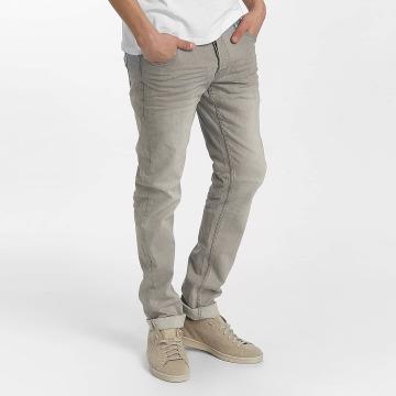 Solid Slim Fit Jeans Joy Stretch gray