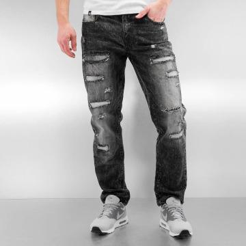 Southpole Slim Fit Jeans Ripped Slim black