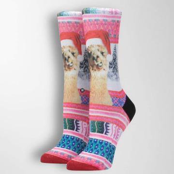 Stance Socks Tinsel Tina red