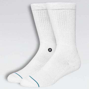 Stance Socks Icon white