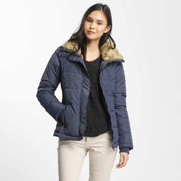 Stitch & Soul Winter Jacket Stand Up Collar blue