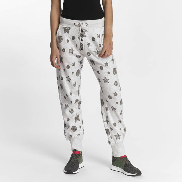 Sublevel Sweat Pant Allover Print gray