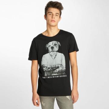 Sublevel T-Shirt Business black