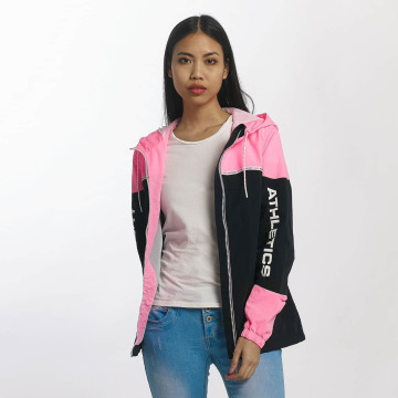 Superdry Lightweight Jacket Colour Block Cagoule pink
