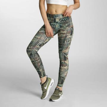 Thug Life Leggings/Treggings Broon camouflage
