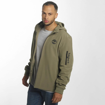 Timberland Lightweight Jacket Hooded Softshell brown