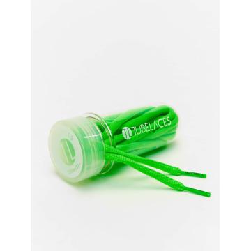 Tubelaces Shoelace Pad Laces 130cm green