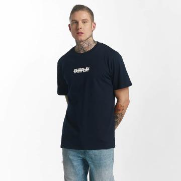 UNFAIR ATHLETICS T-Shirt No Fairplay blue