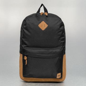 Urban Classics Backpack Leather Imitation black