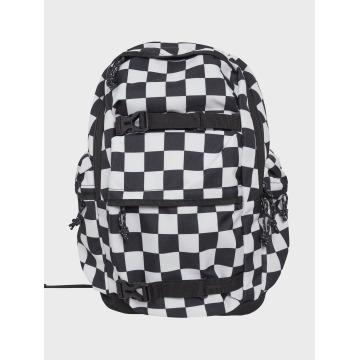 Urban Classics Backpack Checker black