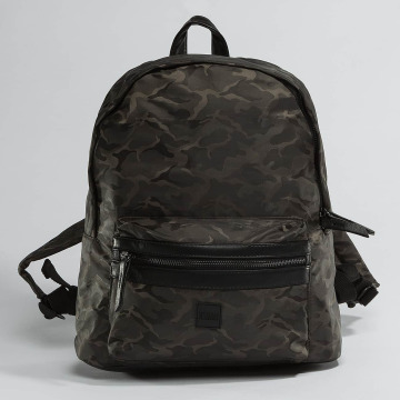 Urban Classics Backpack Camo Jacquard camouflage