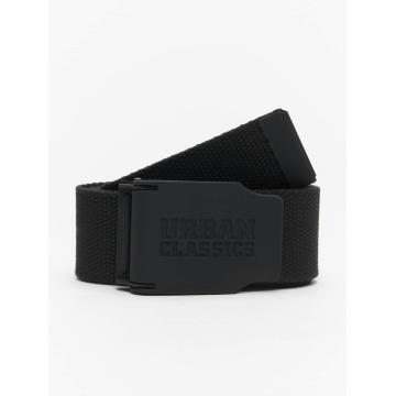 Urban Classics Belt Woven Rubbered Touch black