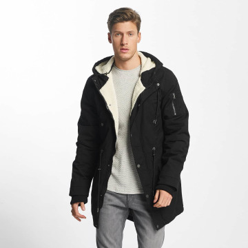Urban Classics Coats Canvas Cotton black