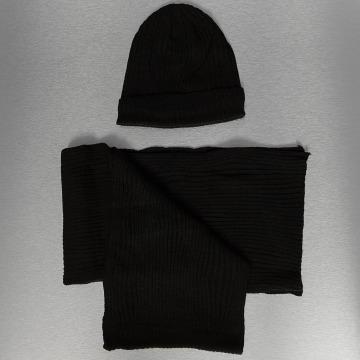 Urban Classics Hat-1 Set black