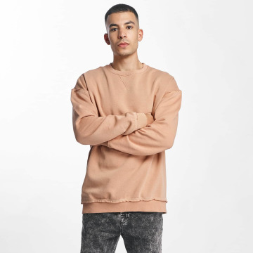 Urban Classics Pullover Oversized Open Edge rose