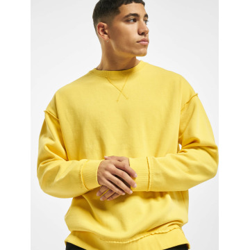 Urban Classics Pullover Oversized Open Edge yellow