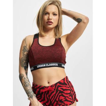 Urban Classics Underwear Active Melange Logo red