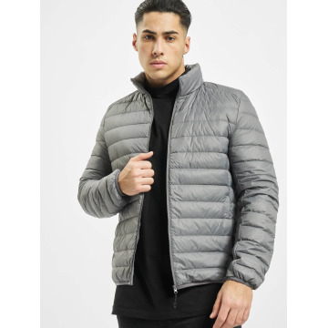 Urban Classics Winter Jacket Basic Down gray
