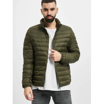 Urban Classics Winter Jacket Basic Down olive