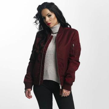 Vintage Industries Bomber jacket Liv red