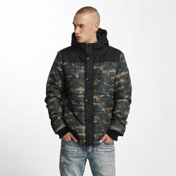 Who Shot Ya? Winter Jacket Uniondale camouflage