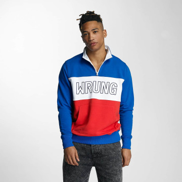 Wrung Division Pullover Rushmore blue