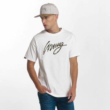Wrung Division T-Shirt Sign Camo white