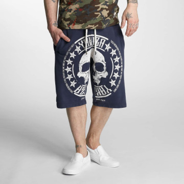Yakuza Short Skull Label blue