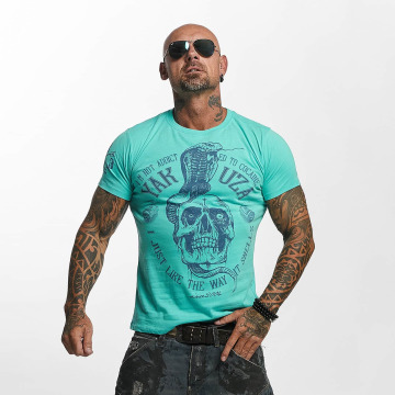 Yakuza T-Shirt Addicted turquoise