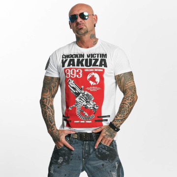 Yakuza T-Shirt Chockin Victim white