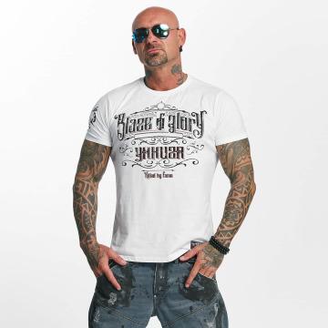 Yakuza T-Shirt Blaze N Glory white