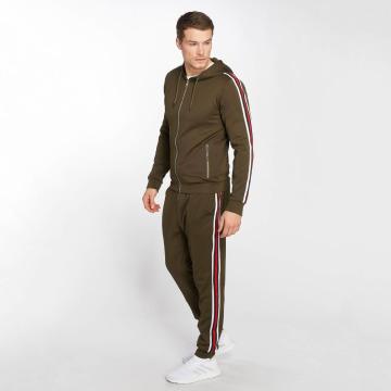 Zayne Paris Suits Sweat khaki