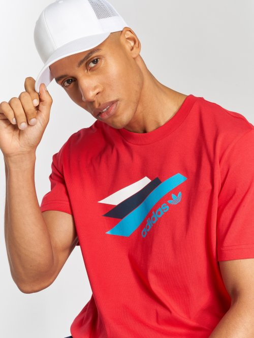 adidas originals T-Shirt Palemston Tee red