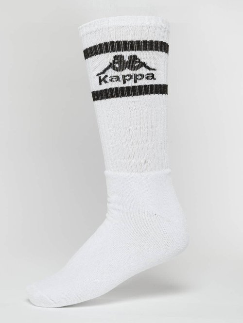Kappa Socks Taxa 3 Pack Trainer white