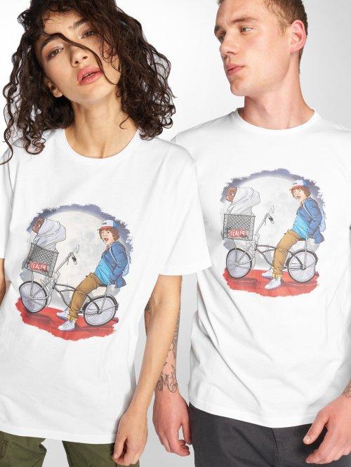 Tealer T-Shirt Stranger Things white