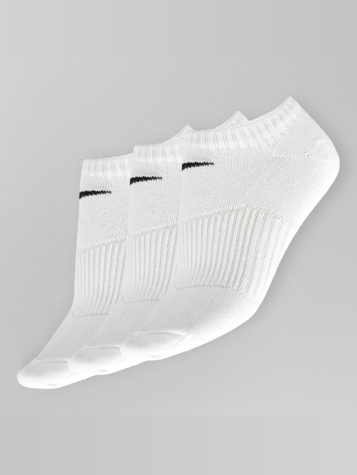 Nike Socks 3 Pack No Show Lightweigh white