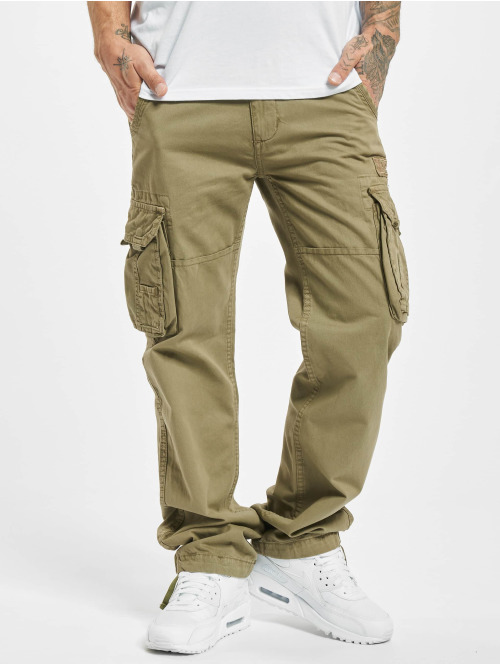 Alpha Industries Cargo pants Jet olive