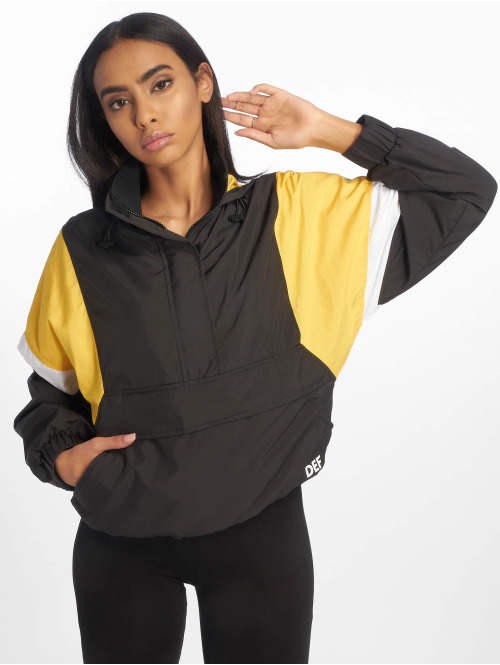 DEF Lightweight Jacket  Colorblock Jacket Black ...