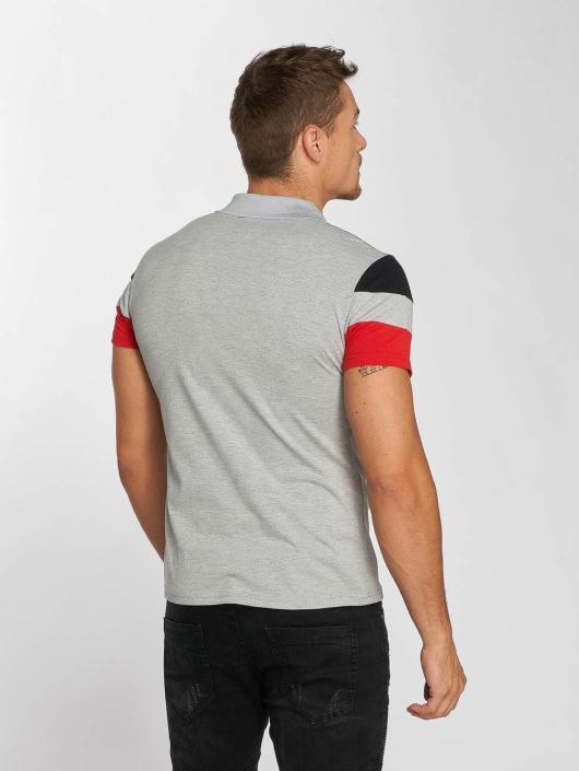 Aarhon Poloshirt Tricolor gray